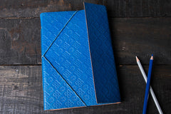 Handmade Leather Notebook 9in x 6in
