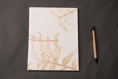 Handmade Paper Diary With Line 9x7