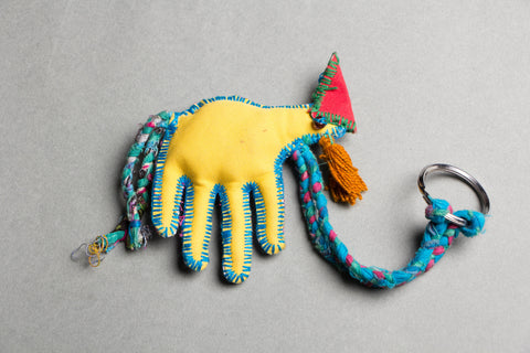 Katran Artwork Peacock Keychain
