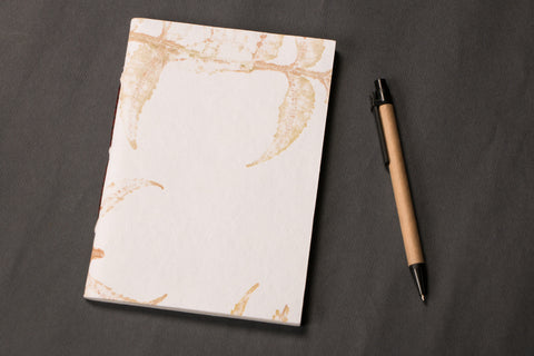 Handmade Paper Diary With Line 7x5