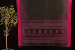 Bengal Phulia Jamdani Handloom Cotton Saree