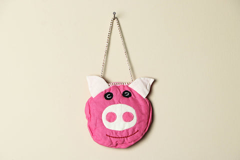 Handmade Pig Face Door Hanging by SASHA