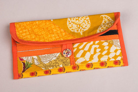 Tukdi Kaam Cotton Multipurpose Wallet