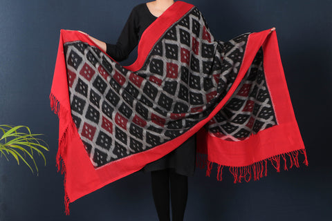 Pochampally Ikat Cotton Dupatta