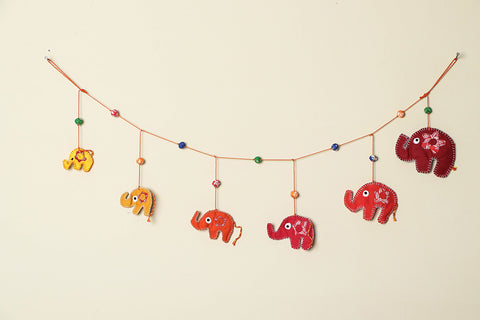 Handmade Elephant Door Hanging by SASHA