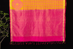 Special Kanchipuram Handloom Silk Cotton Saree