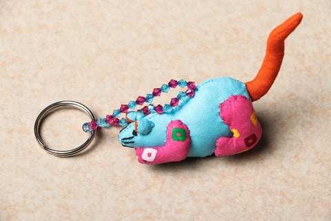 Handmade Rat Key Ring