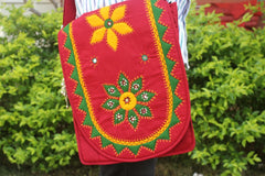 Mirror & Embroidery work Sling Bag