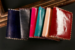 Handstitched Leather Card Wallet