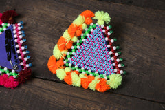 Beadwork Hair Clip with Tassels (Single) by Hodka Girls