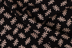 Pre-Washed Cotton Block Printed Fabric