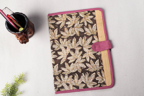 Handmade Block Printed File Folder by Jugaad