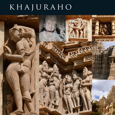Fridge Magnet - Khajuraho (set of 8)