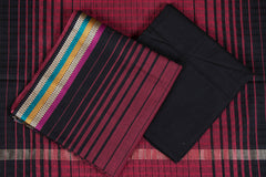 3pc Mangalgiri Handloom Cotton Suit Material Set with Border