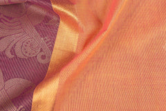 Kanchipuram Cotton Buta Fabric with Thread & Zari Border