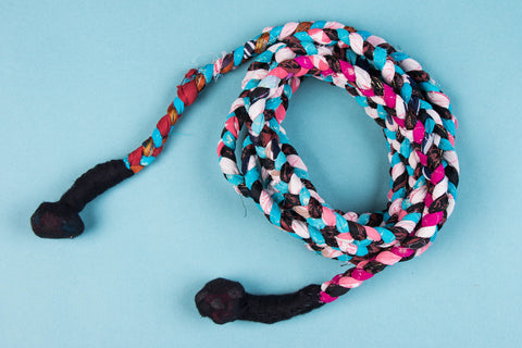 Handmade Skipping Rope by Green by Goonj