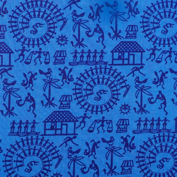 Pre Washed South Cotton Printed Fabric