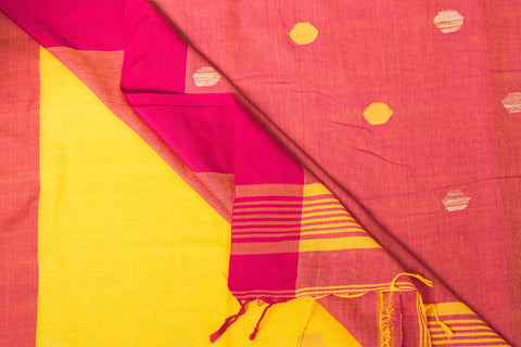 Handloom Cotton Jamdani Buti Saree from Nadia
