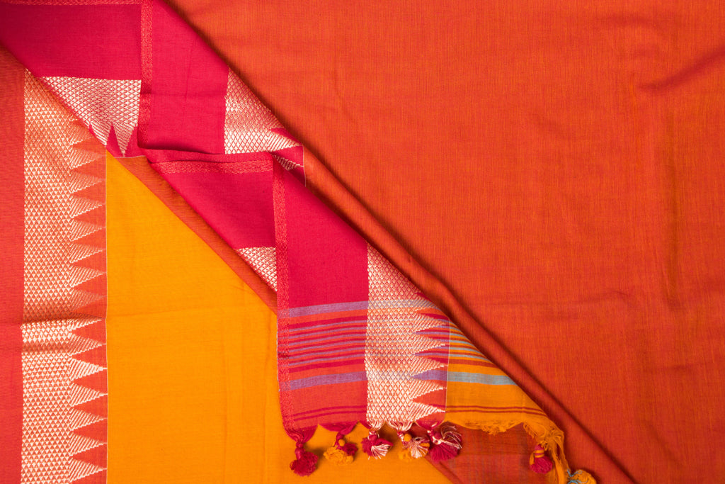 Handloom Soft Cotton Saree from Nadia