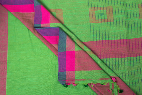 Handloom Cotton Jamdani Weave Saree from Nadia