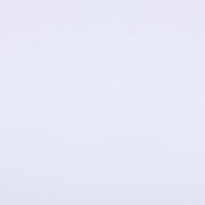 White - Pre Washed Plain Dyed Pure Cotton Fabric (Width - 44 in)