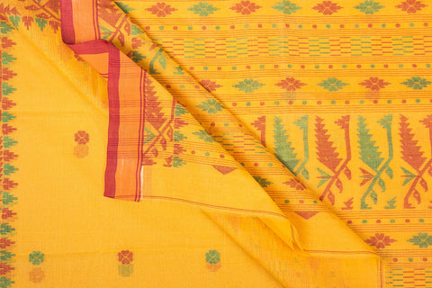 Bengal Handloom Dhakai Buti Pure Cotton Saree