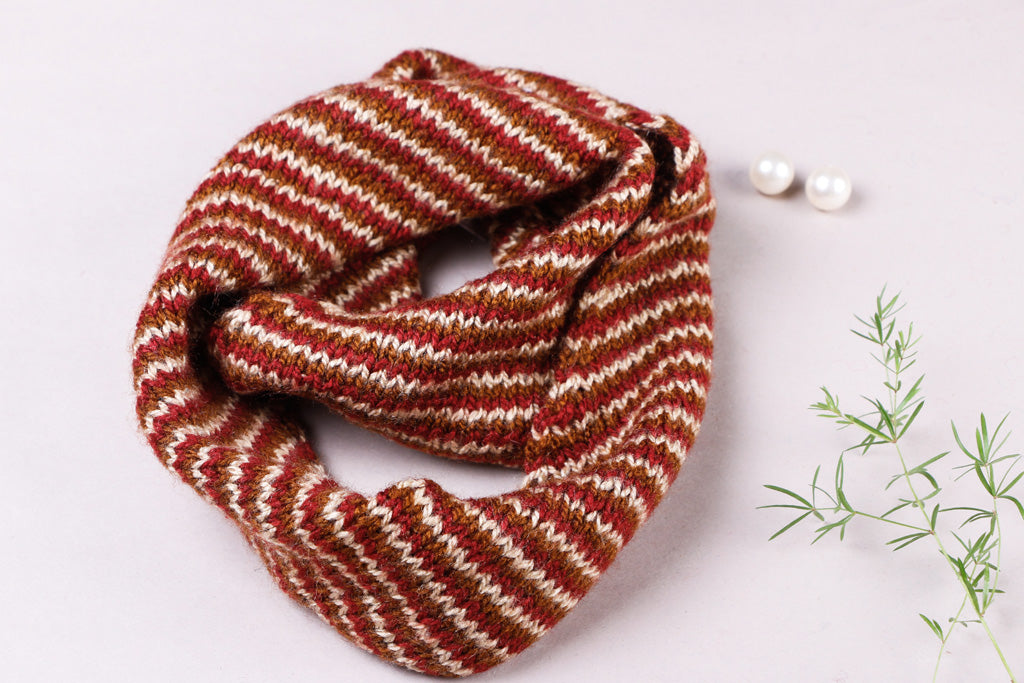 Kumaun Handknitted Woolen Neck Warmer