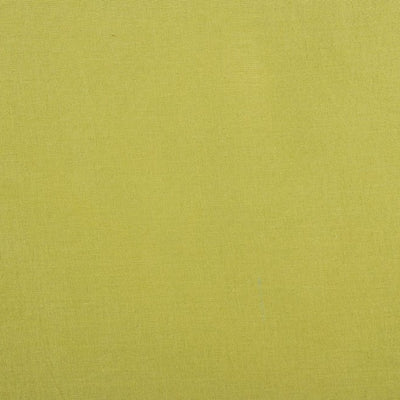 Lime Green - Pre Washed Plain Dyed Pure Cotton Fabric (Width - 110 cm)