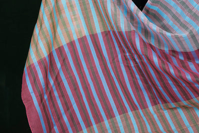 Pure Handwoven Kota Doria Silk Cotton Dupattas