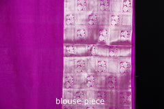 Uppada Pattu Handloom Pure Silk Zari Saree