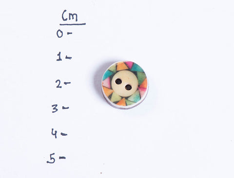 Handmade Sambhal Clothing Button (Single Piece)