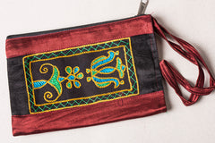 Kutchhi Hand Embroidered Mobile Pouch