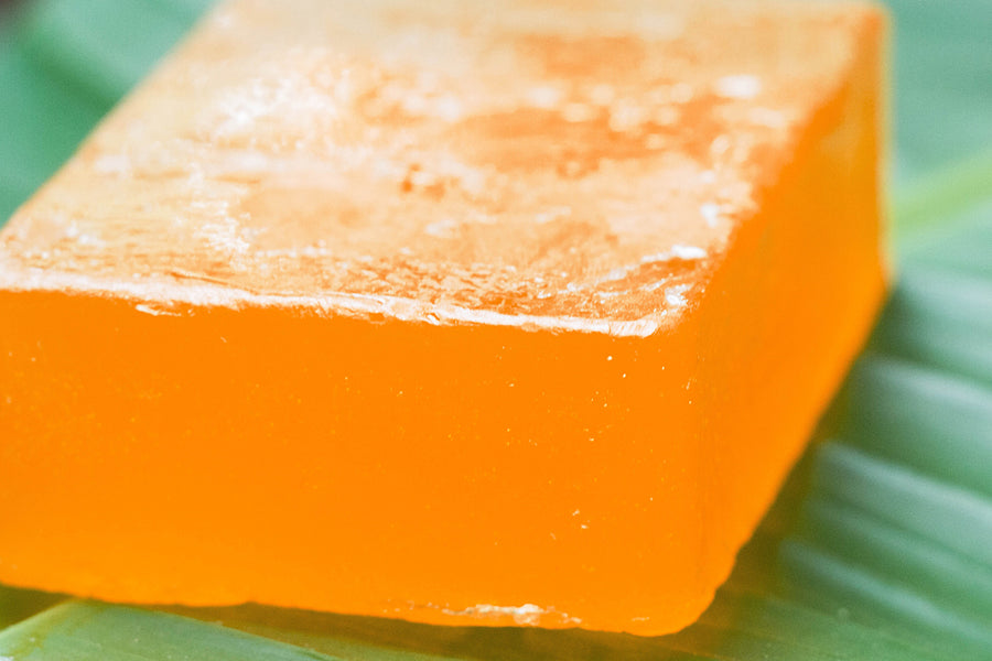 Orange - Natural Handmade Soap 100 gms
