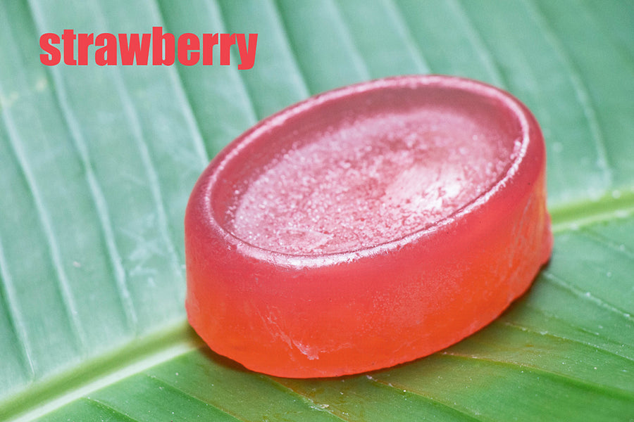 Strawberry - Natural Handmade Soap 50 gms