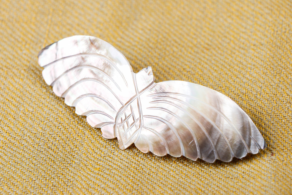 0 Handcrafted Seashell Hair Clip