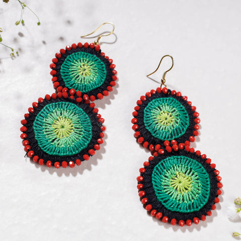 Original Blue Pottery Ceramic Bowl (Size - 5 inches)