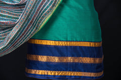 2pc Dharwad Handloom Cotton Suit with Maheen Kaam Traditional Sanganeri Signature Hand Block Print Chanderi Dupatta