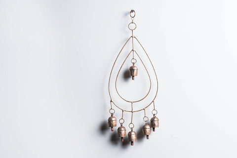 Kutch Copper Coated 6 Bell Tilk