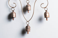 Kutch Copper Coated 4 Bell V Design