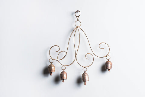 Kutch Copper Coated Bell Double Muchh