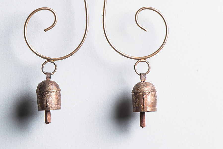Kutch Copper Coated 2 Bell Muchh
