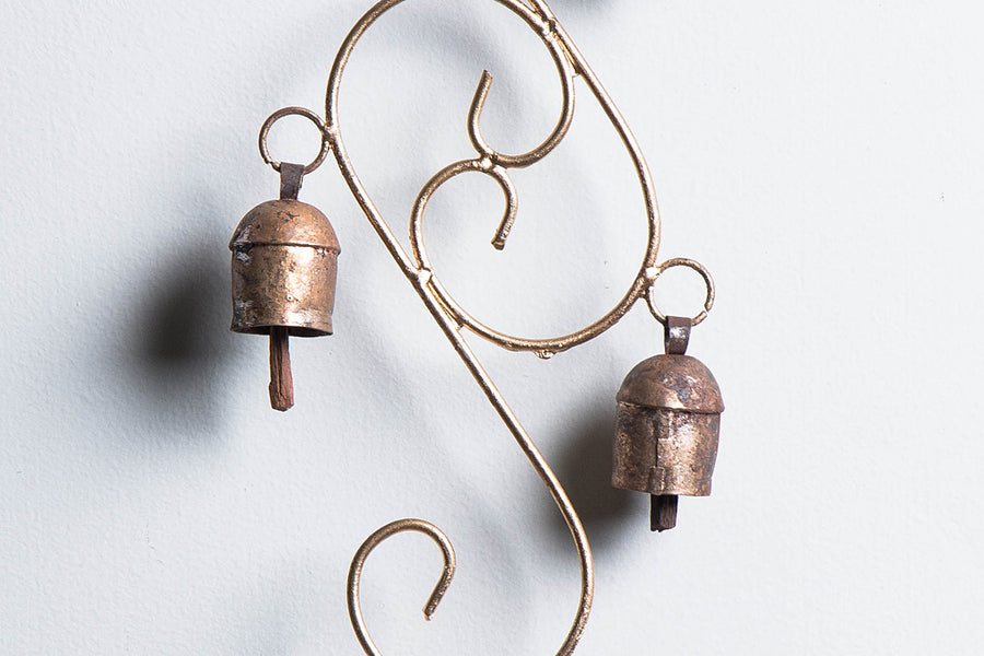 Kutch Copper Coated Small Sapmell 4 Bell