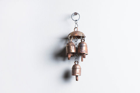 Kutch Copper Coated Bell 5 Bell Jhoomar
