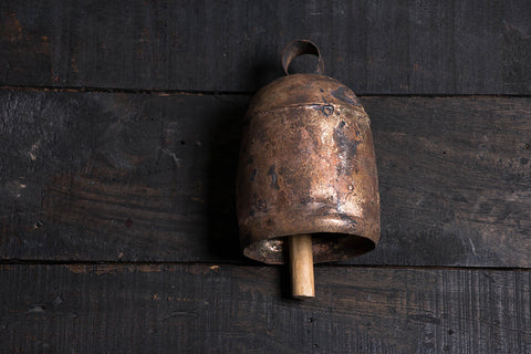 Kutch Copper Coated Bell (7.3 inches)