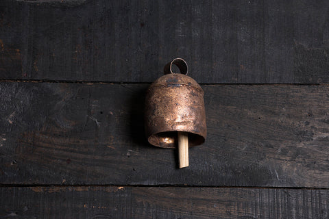 Kutch Copper Coated Bell (4.4 inches)