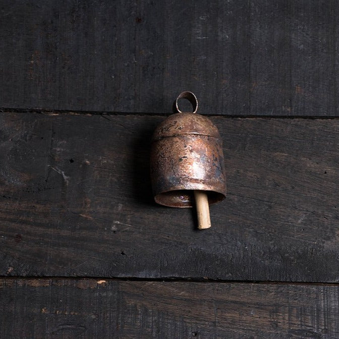 Kutch Copper Coated Bell (4 inches)