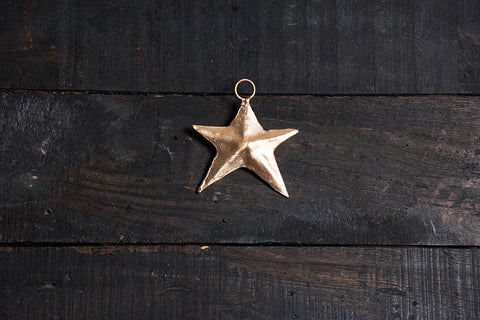 Kutch Copper Coated Star (3.7 inches)