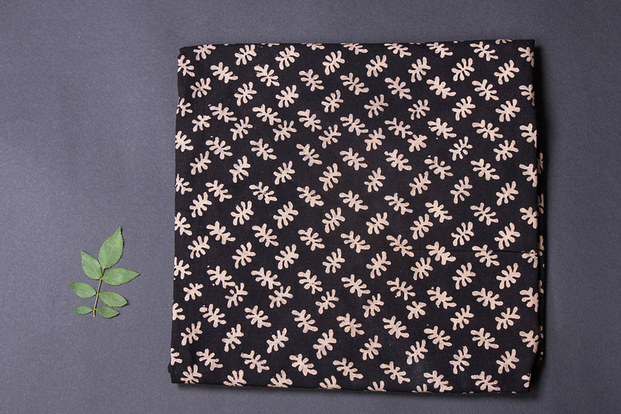 Pre Washed Cotton Block Printed Precut Fabric - 1.2 meter