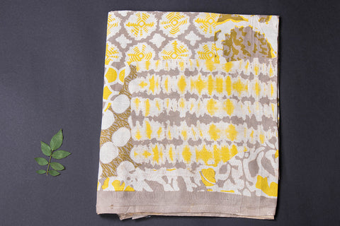 Pre Washed Cotton Block Printed Precut Fabric - 1.6 meter