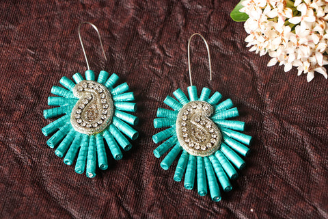 Paperjewelz Keri Earrings by Vrinda